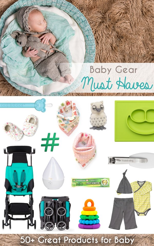 The best items for baby! From layette to gear, this list has everything you *actually* need