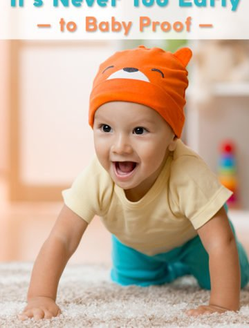 The best advice to help you baby proof your home with safe and non-toxic materials
