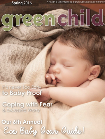 Spring 2016 issue of Green Child Magazine