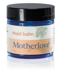 Healing Rhoid Balm from Motherlove