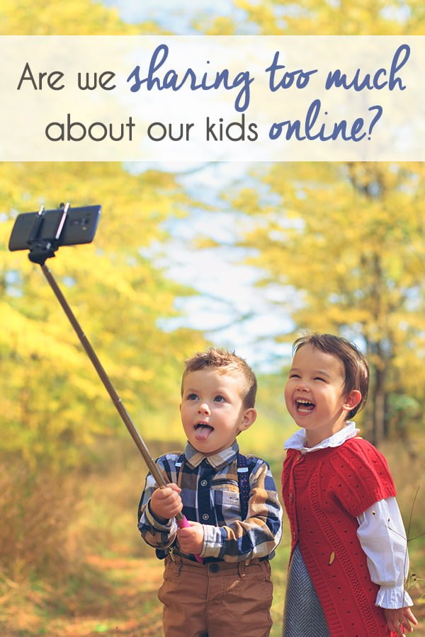 Are we sharing too much about our kids online?