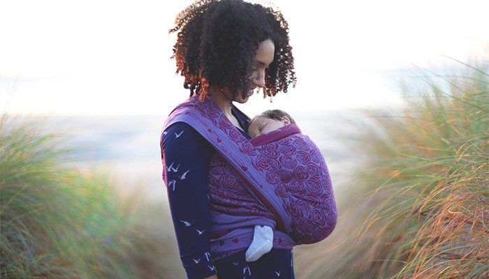 Beautiful Oscha Slings Baby Wraps and Carriers