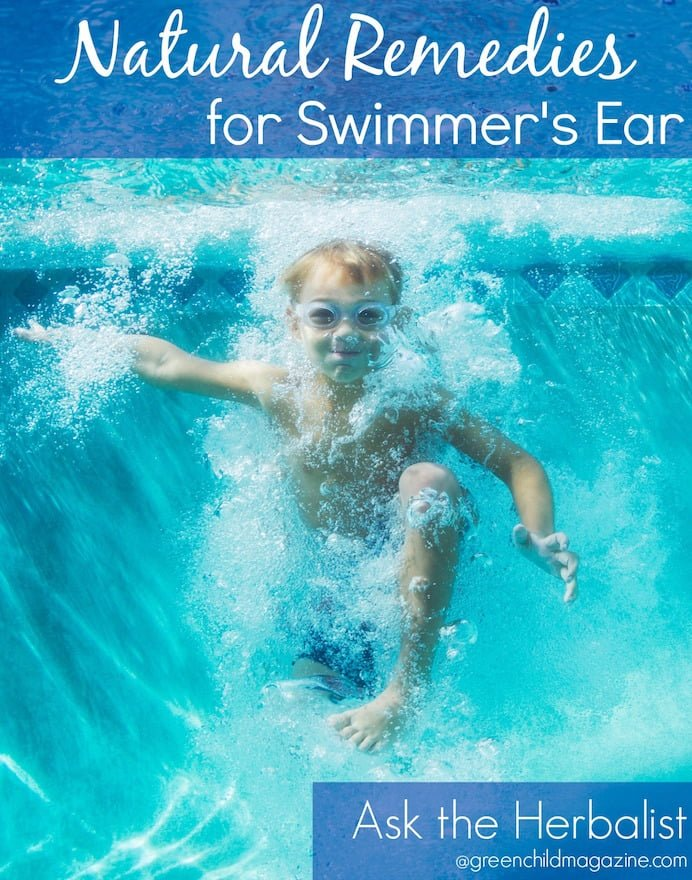 Herbalist, Susie Lyons, shares home remedies you can use to ease the discomfort of swimmer's ear.