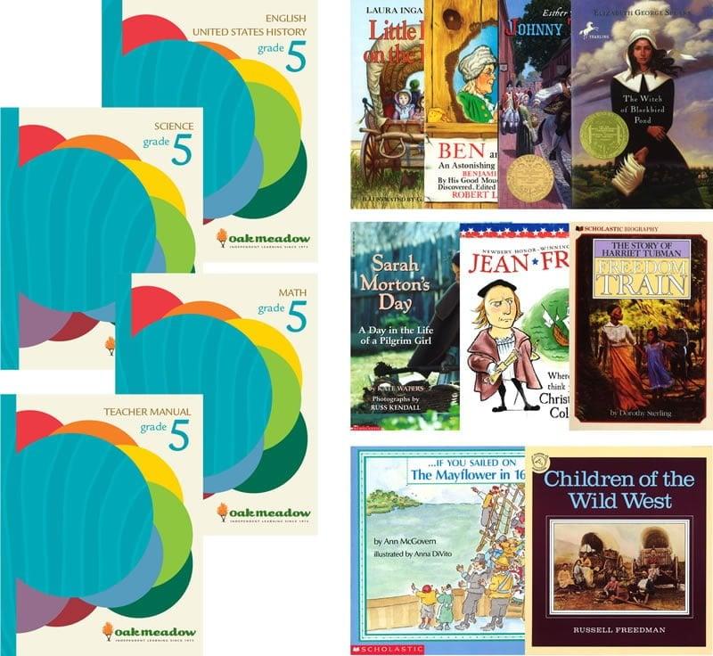 Enter to win a full Oak Meadow Homeschool Curriculum Package