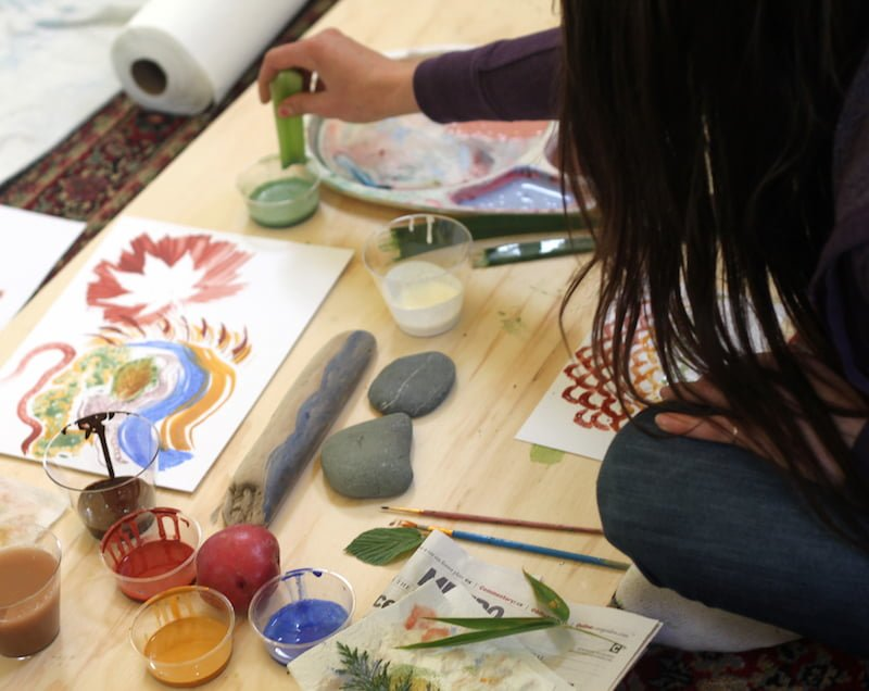 Nature-inspired Art: How to Make Your Own Nature Brushes
