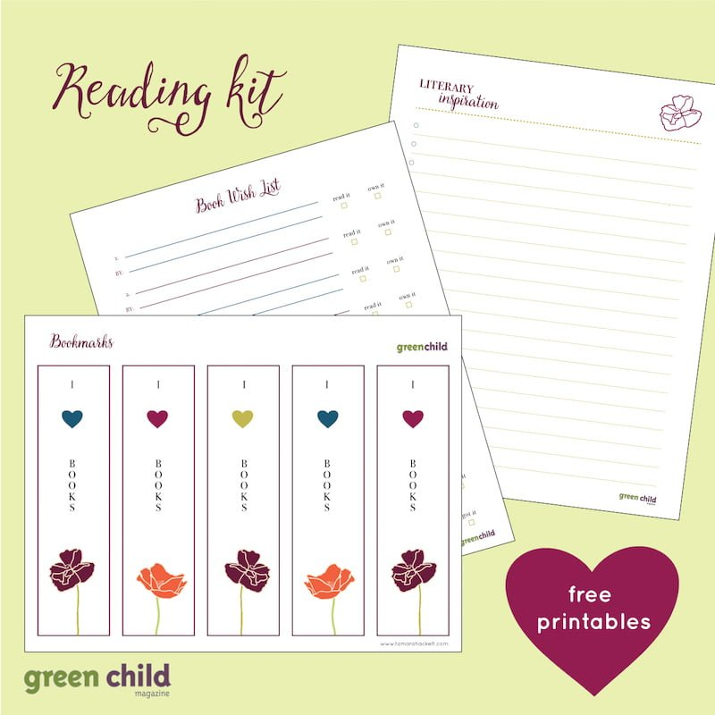 Free Printable Reading Kit for Grown Ups