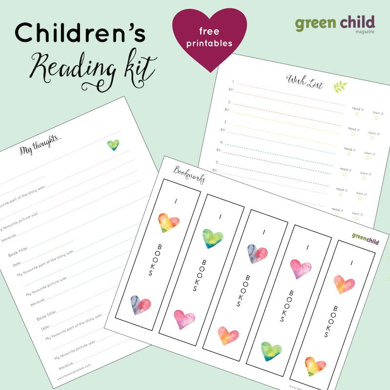 Children's Reading Kit - Free Printable