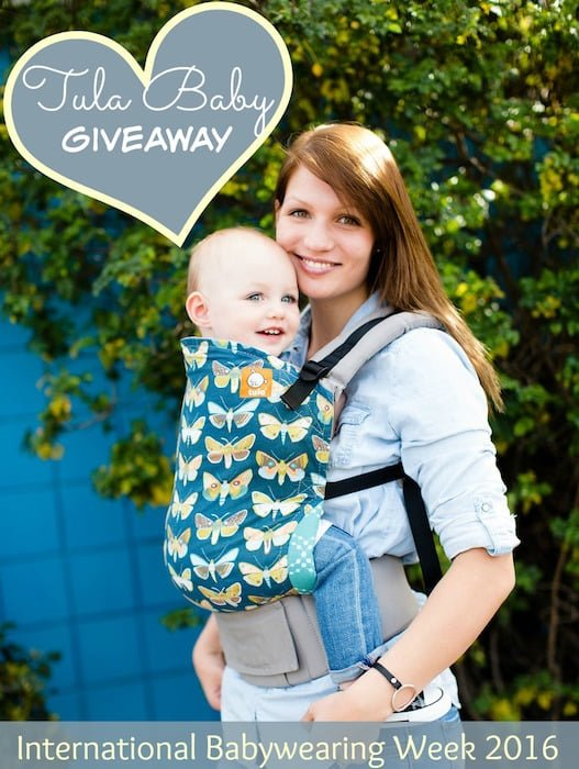 06e72ac0c It s Babywearing Week and We re Giving Away TWO Tula Baby Carriers!