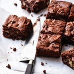 Easy Gluten-free Peppermint Brownies