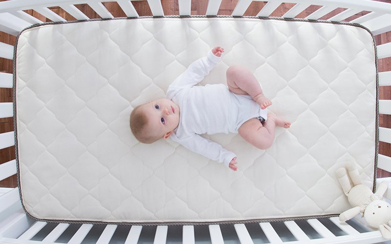 quality design e88c5 301e2 Sleep Safety: How to Choose a Nontoxic Crib Mattress