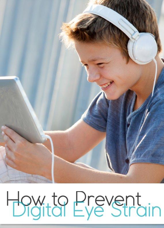 Tips for preventing digital eye strain in kids