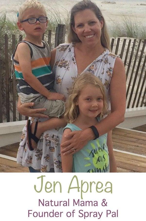 Jen Aprea of Spray Pal interview