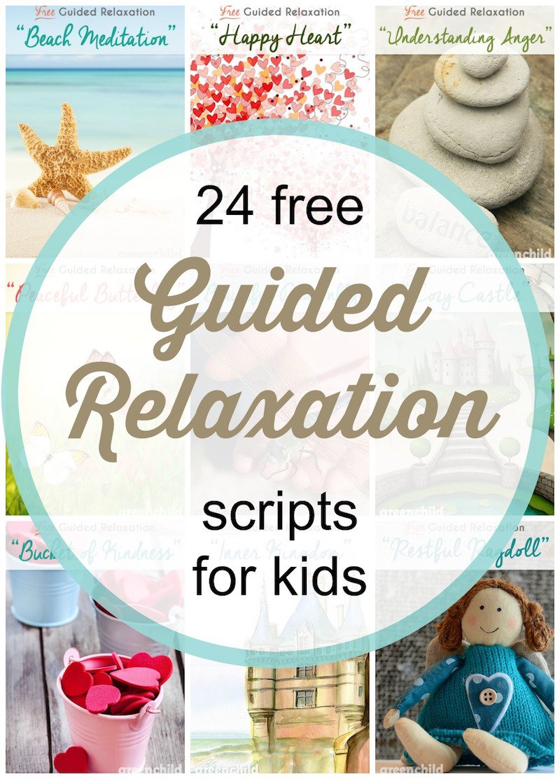 Free Guided Meditation and Relaxation Scripts for Kids