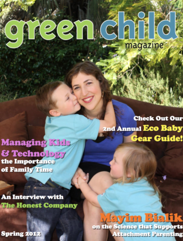 Green Child Magazine Spring 2012 Cover