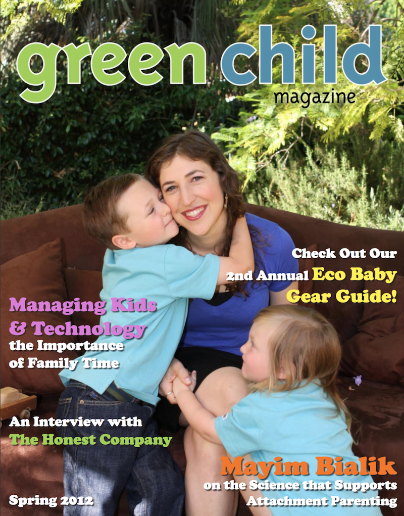 Green Child Magazine Spring 2012 Cover