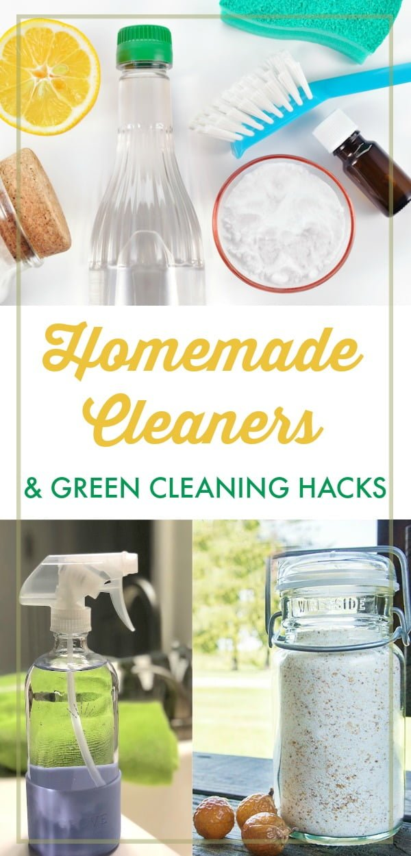 The Best Homemade Cleaners and Green Cleaning Hacks