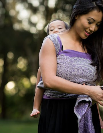 Babywearing Wraps: Navigating the Learning Curve