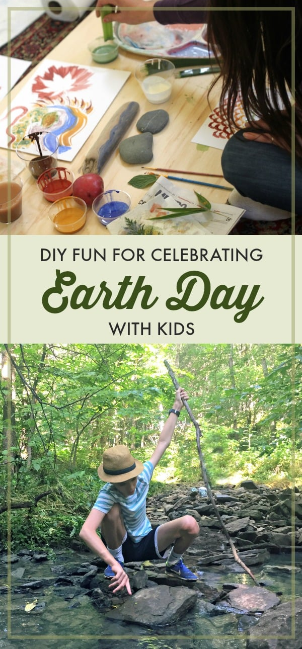 Inspiring and fun ideas for celebrating Earth Day with kids. We protect what we love. And we've found the best way to encourage kids to protect the environment is to get them outside so they can fall in love with nature.