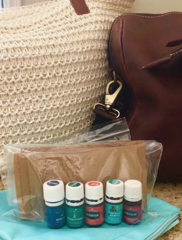 How to pack essential oils for air travel