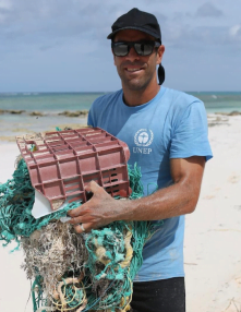 At every Jack Johnson concert, partners in his All At Once organization work locally to support sustainable food systems and find creative solutions to reduce plastic waste.