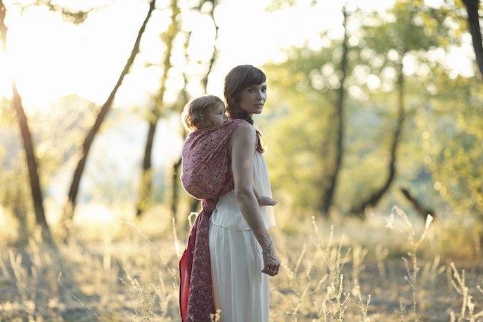 Babywearing Giveaway: Oscha Slings Roses Eros Baby Wrap