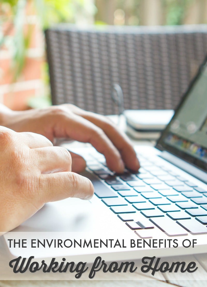 It's more convenient and often less stressful, and while you may not have considered this - there are many environmental benefits of remote work.