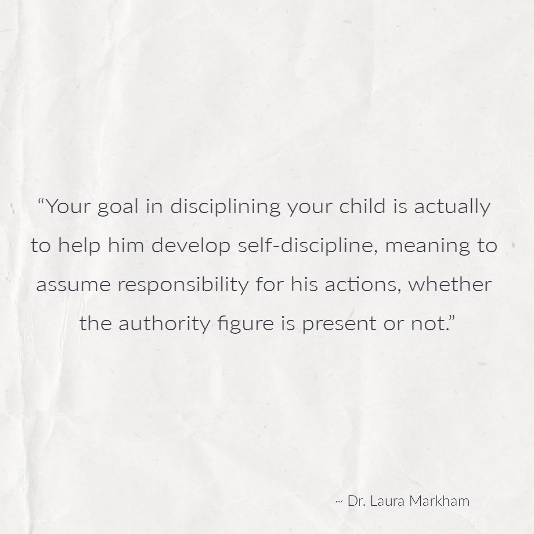 Dr. Laura Markham Positive Parenting quote
