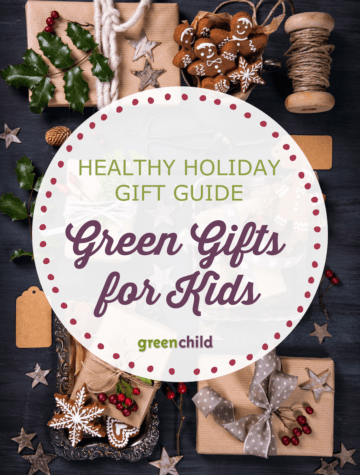 Naturally wrapped holiday gifts for kids