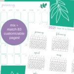 printable planner 2021