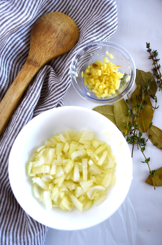 Roasted Garlic Chicken Bone Broth soup recipe