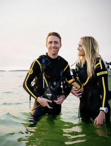 Philippe Cousteau, Jr and wife Ashlan