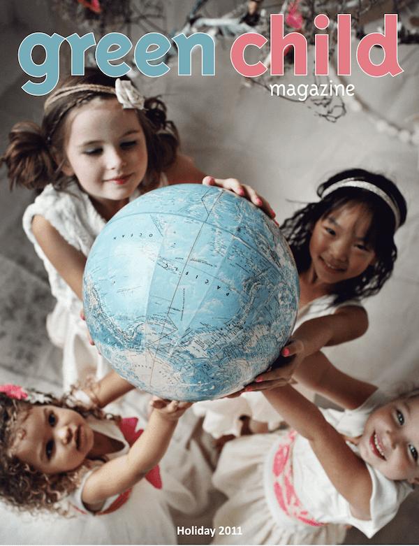 Green Child Magazine Holiday 2011 issue