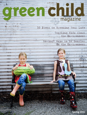 Green Child Magazine Spring 2011 issue