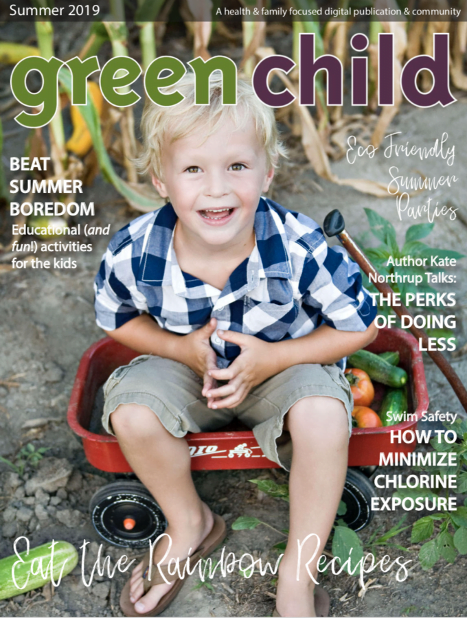 Summer 2019 issue of Green Child Magazine