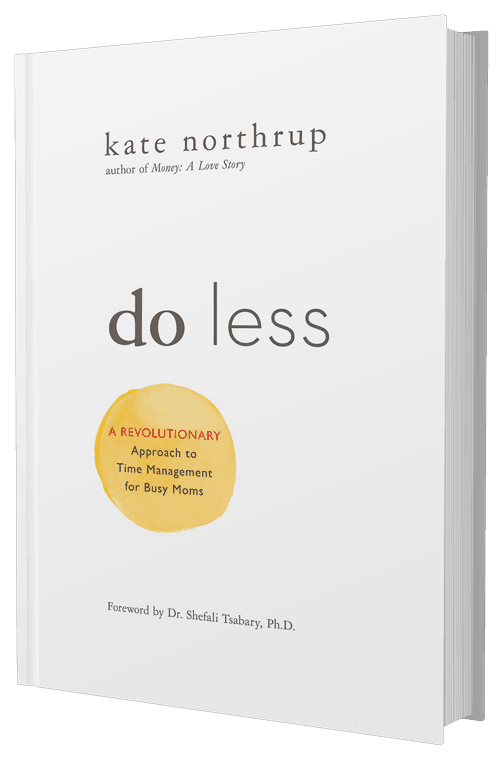 Kate Northrup Do Less Book