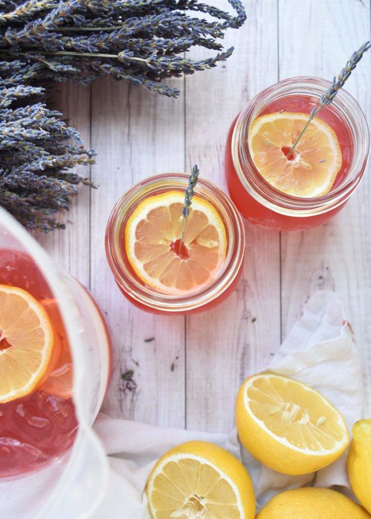 Fresh Lavender Lemonade Recipe