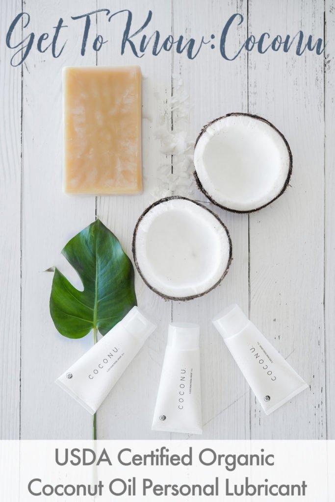 Coconu organic coconut oil personal lubricant