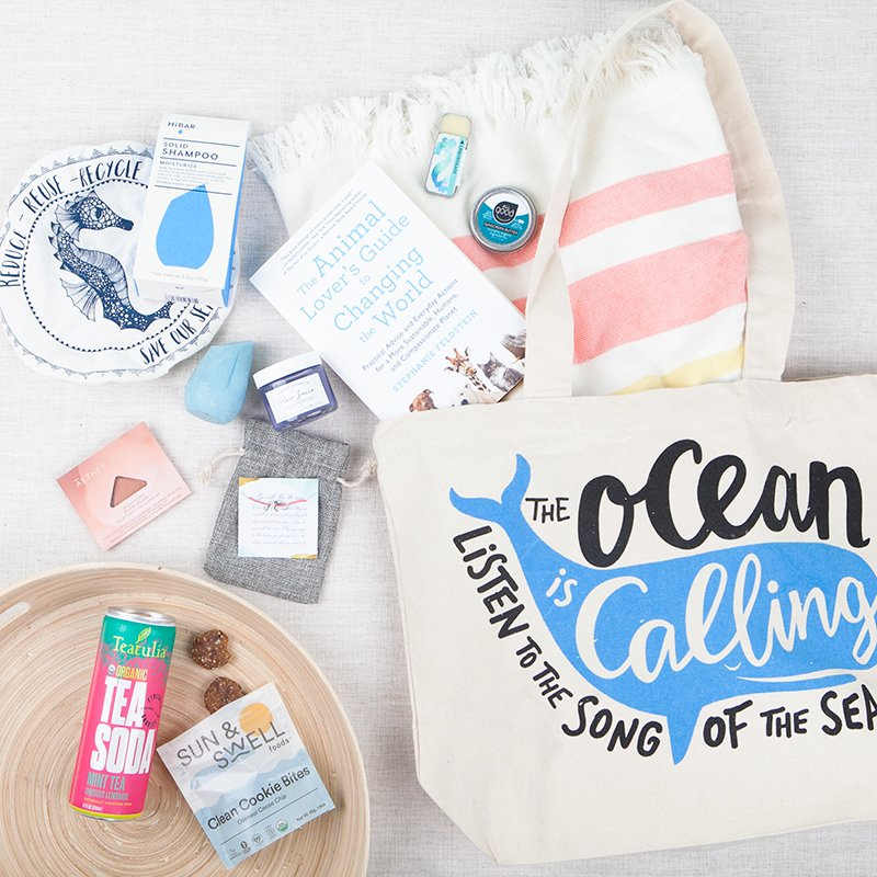 Earthlove Subscription Box contents for August 2019