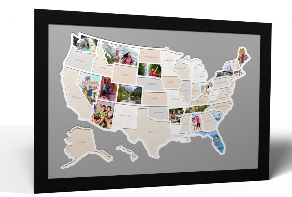 50 States Photo Map