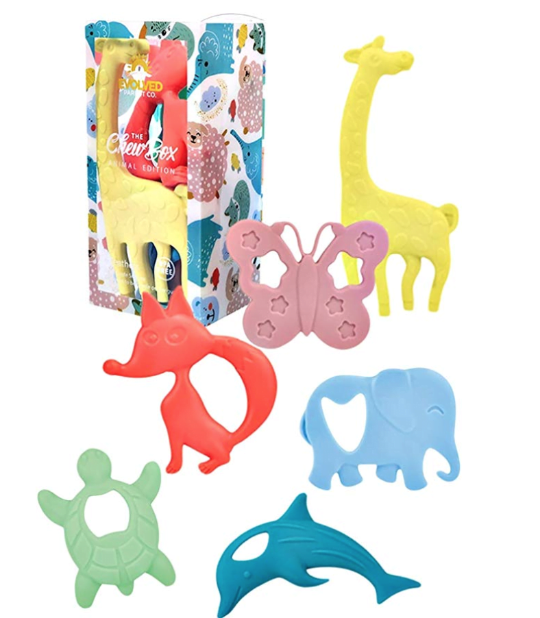 Animal Edition Silicone Baby Teethers