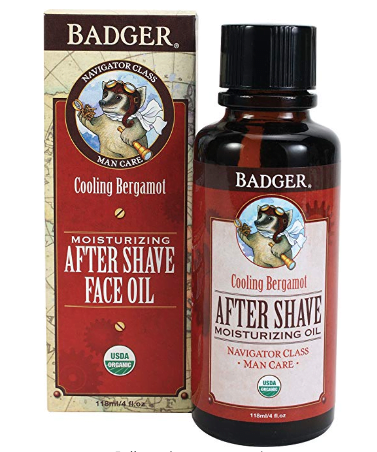 Badger After Shave Oil