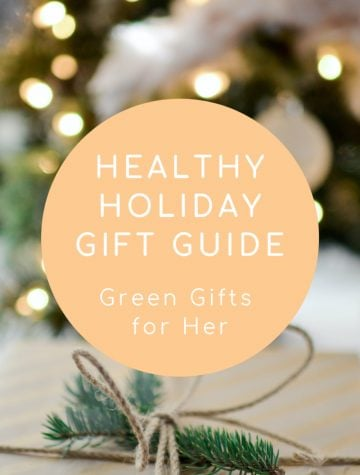 Holiday Green Gift Guide: Green Gifts for Her