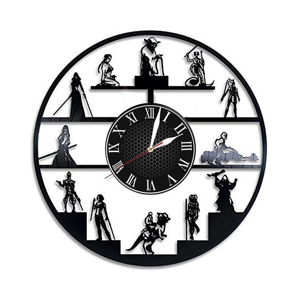 Star Wars Vinyl Record Wall Clock