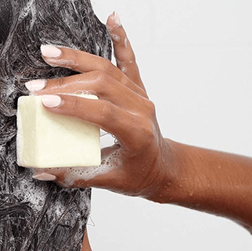 Zero-Waste Solid Shampoo Bar