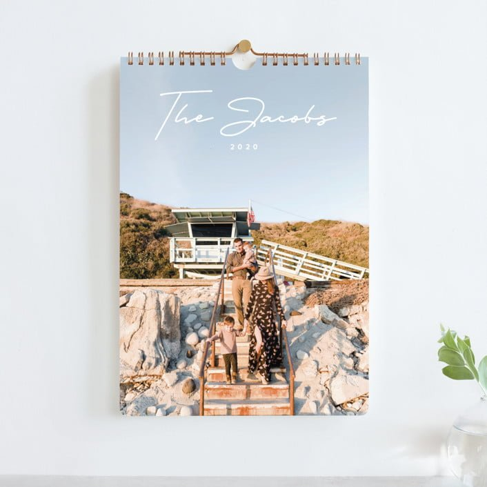 Custom Photography Calendar gift