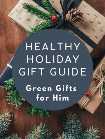 Eco Friendly Holiday Gifts for Men