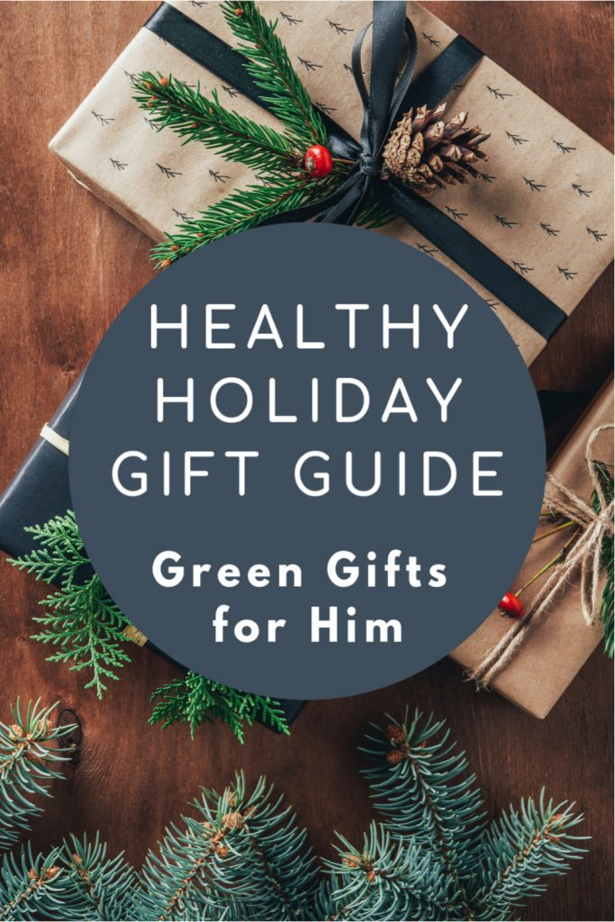 Natural holiday gift boxes, presents for him