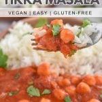 Chickpea Tikka Masala recipe