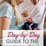 brand new parents postpartum guide