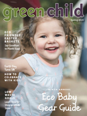 Spring 2020 issue of Green Child Magazine
